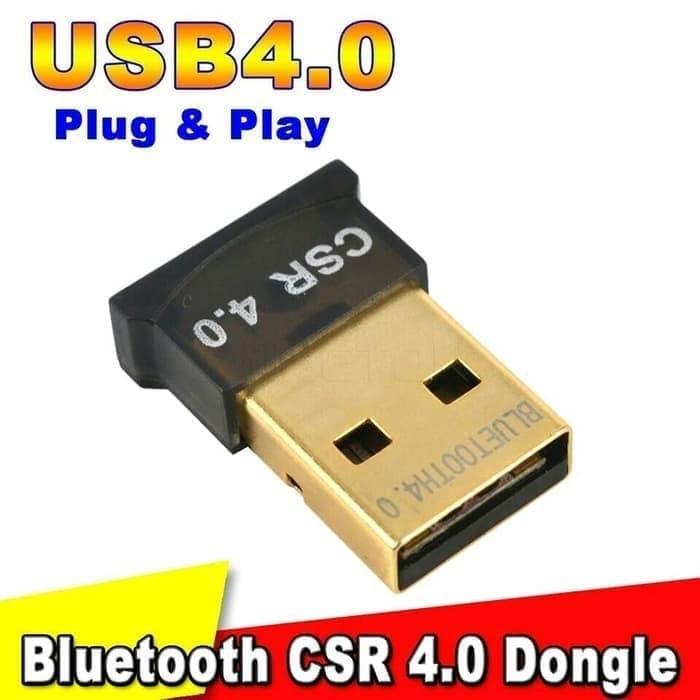 Foto Produk Mini Bluetooth CSR 4.0 Adapter Dongle receiver dari Cikuleta