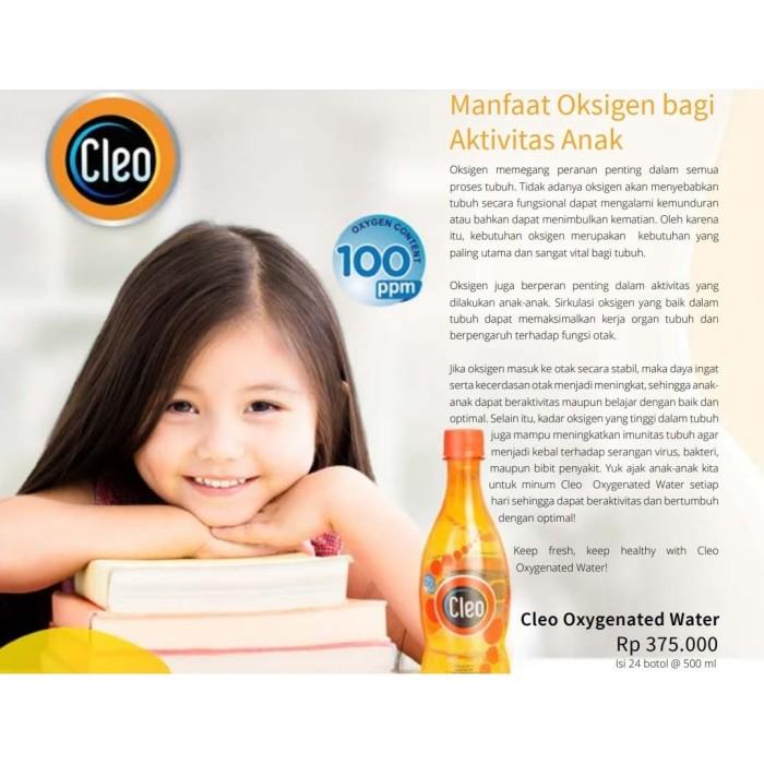 Jual Cleo Oxygenated Water Minuman Oksigen Oxy 1dus Oksigen Air Kota Tangerang Selatan Arrazzaq Shop Tokopedia
