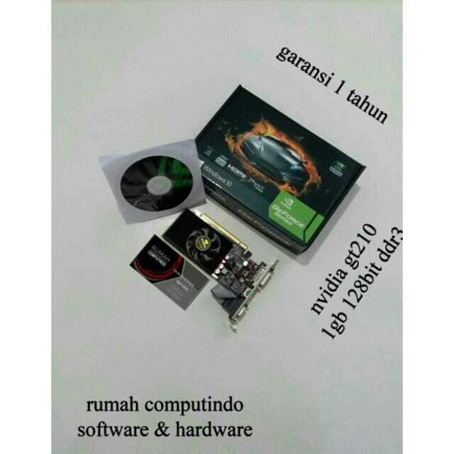 Foto Produk VGA CARD NVIDIA GT210 1GB 64BIT DDR3 BARU.BERGSRSNSI dari rumah computindo
