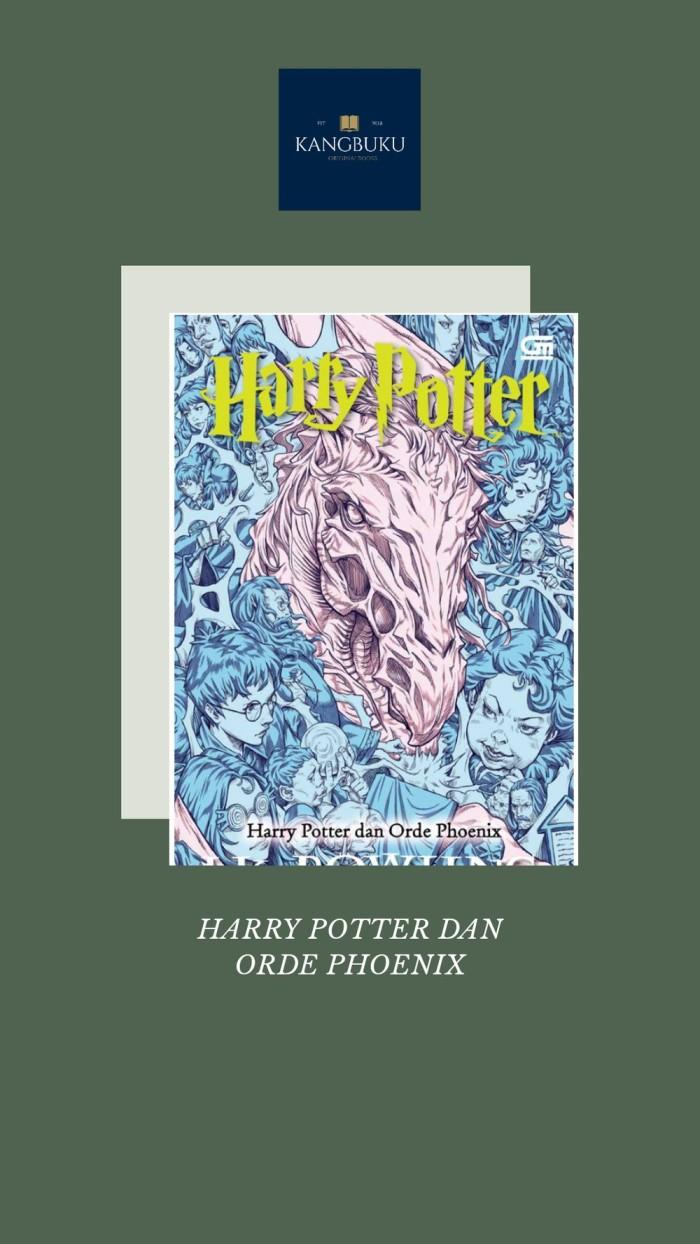 Jual UNIK Novel HARRY POTTER DAN ORDE PHOENIX Rekomended Kota Surabaya Matkerokerokun