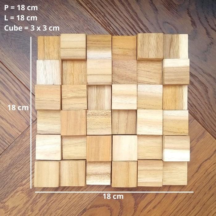 Jual Panel Kayu Jati Dinding Kayu Jati Wall Panel Teak Wood Kab Kendal Wood Wall Tokopedia
