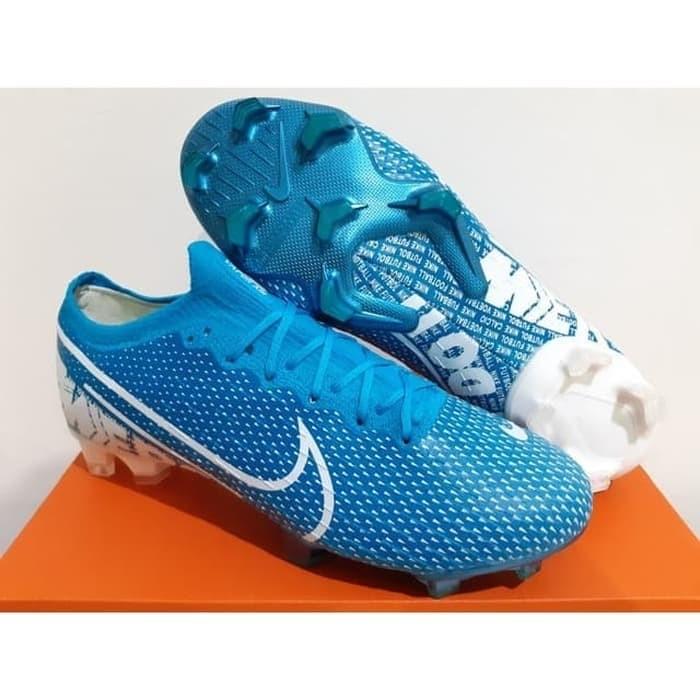 Jual Sepatu Bola Soccer Nike Mercurial Vapor 13 Elite Blue Hero