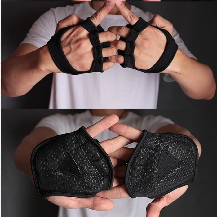 Foto Produk MKAS Sarung Tangan Gym / Fitness Palm Protector Training Gloves (2pcs) - S dari Kiddies World