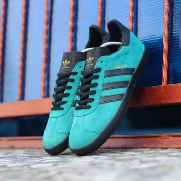 Jual Adidas Gazelle Green Tosca Black