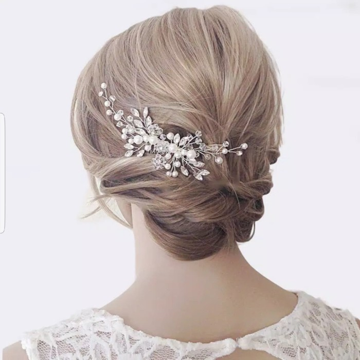 Foto Produk Sirkam Hiasan Rambut Aksesoris Sanggul Pesta Pengantin Wedding S04 dari Star Gallery