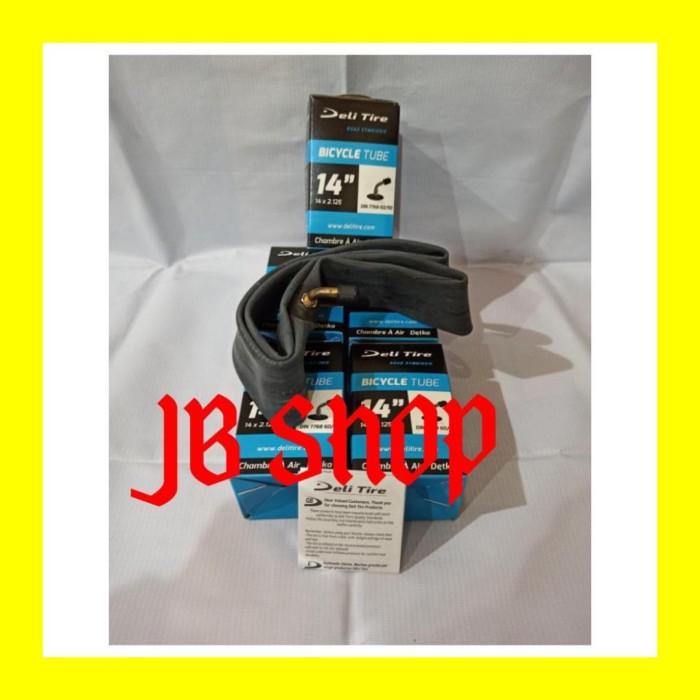 Foto Produk BAN DALAM SEPEDA LISTRIK 14 X 2125 pentil bengkok 14x2125 mr jackie dari JB Shop 1