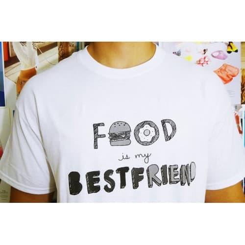 Jual Fedorafashion Tshirt Almeira Food Tee Best Friend Rx Jakarta Barat Fany Shop Online Tokopedia