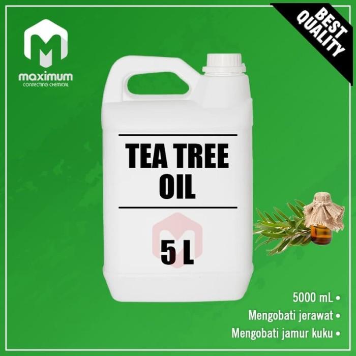 Foto Produk Tea Tree Oil 5 Liter - Aromatherapy dari Maximum Chemical