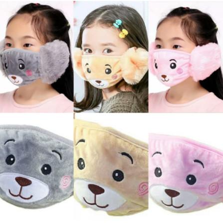 Foto Produk Earmuff Masker Mulut Telinga Anak Mask Penutup Mulut Winter Anti Debu dari Acc Perhiasan