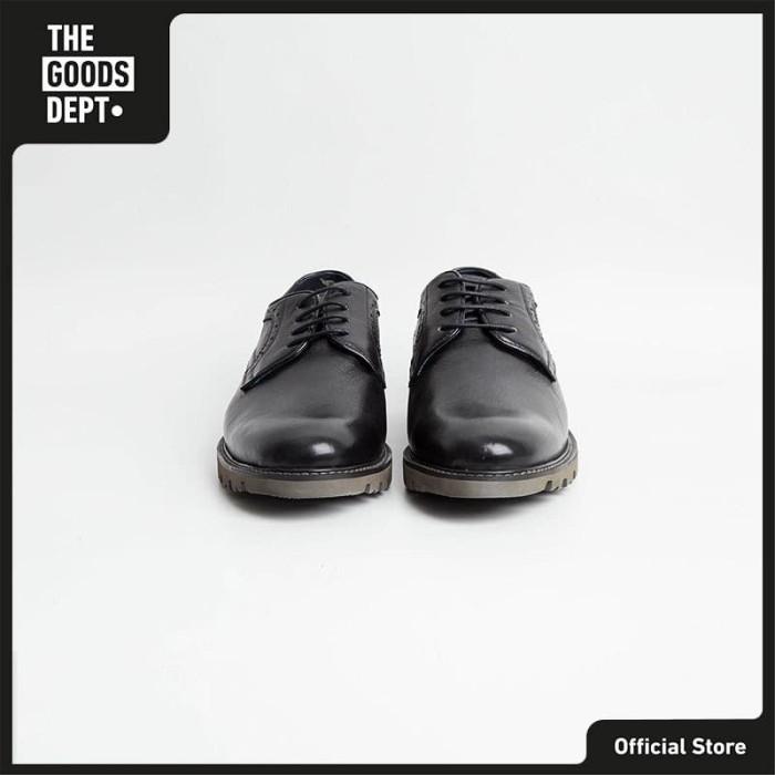 The Goods Dept Sepatu Pria JOHN OXFORD Hitam
