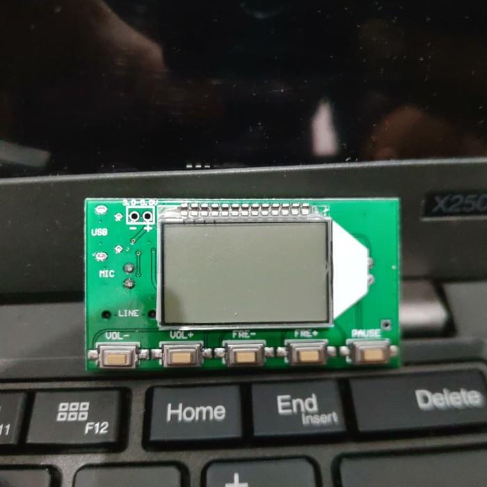Foto Produk pemancar FM radio fm tuner digital display dsp pll dari awallaptop