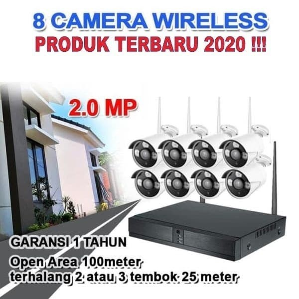 Jual WIRELESS CCTV / IP KAMERA / PAKET CCTV / IP CAM