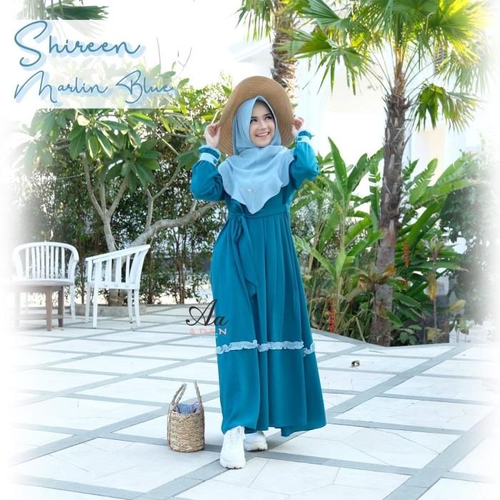 Foto Produk Shireen set - Biru, XL dari Al-urnieyah