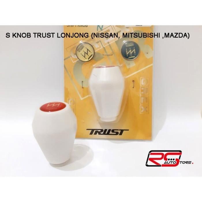 Foto Produk SHIFT KNOB TRUST LONJONG M/T NISSAN MITSUBISHI MAZDA BAHAN DURACON dari RS-Autostore