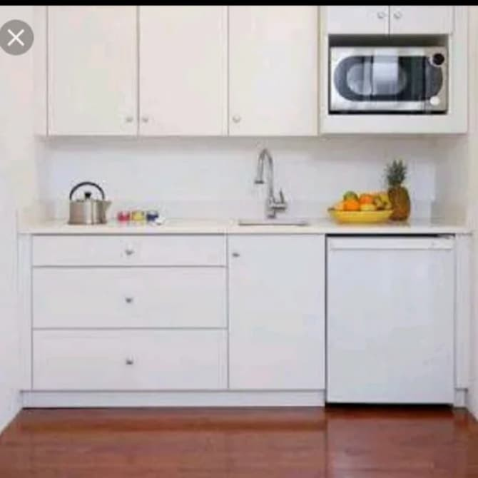 Jual Kitchen Set Murah Duco Putih Lemari Dapur Minimalis Kab Jepara Alb Furniture Centre Tokopedia
