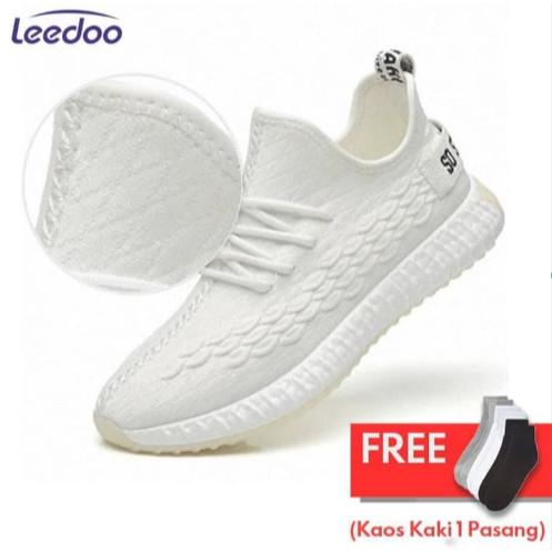 Leedoo Sepatu Pria Sepatu Sneakers Pria Sepatu Import Sepatu MR103