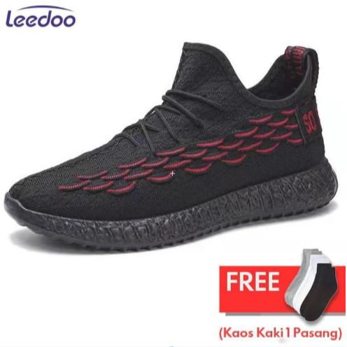 Leedoo Sepatu Pria Sepatu Pantofel Pria Sepatu Sneakers Pria MR103