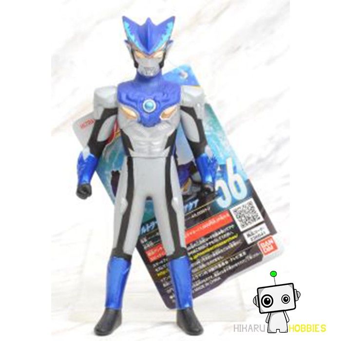 Bandai Ultraman Cosmos Luna mode Ultra Hero Series 16 Sofvi Soft Vinyl Figure