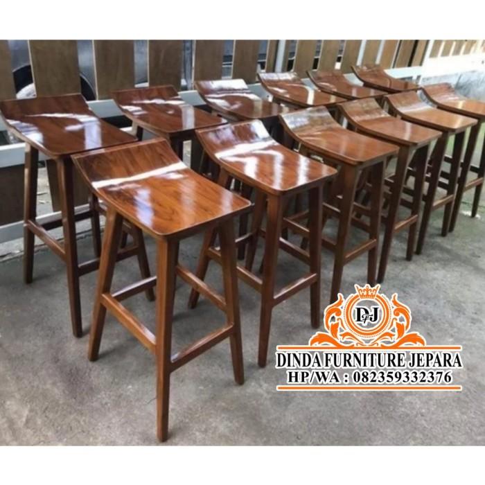 Jual Kursi Cafe Kursi Bar Kursi Cafe Kayu Jati Interior Cafe Jakarta Selatan Riska Store 2019 Tokopedia