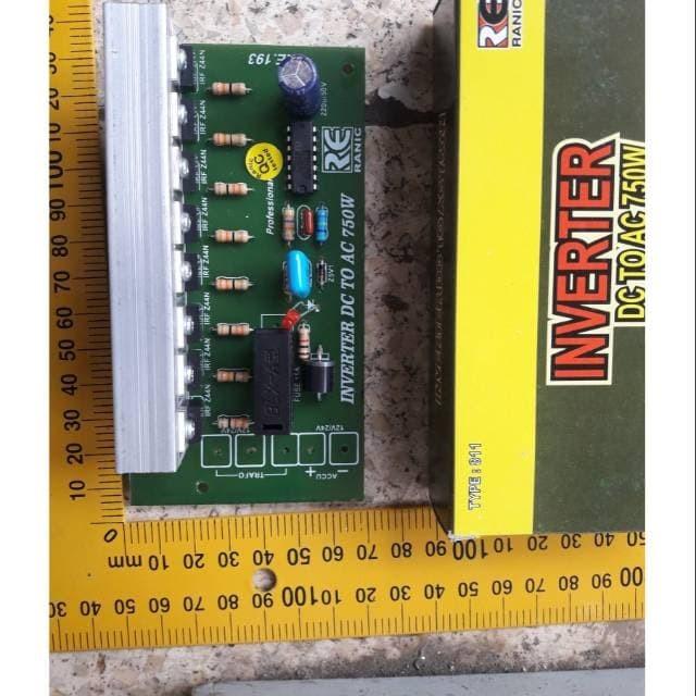 Foto Produk Kit inverter dc to ac 750 watt pengubah arus listrik dv ke ac dari Akinory Store