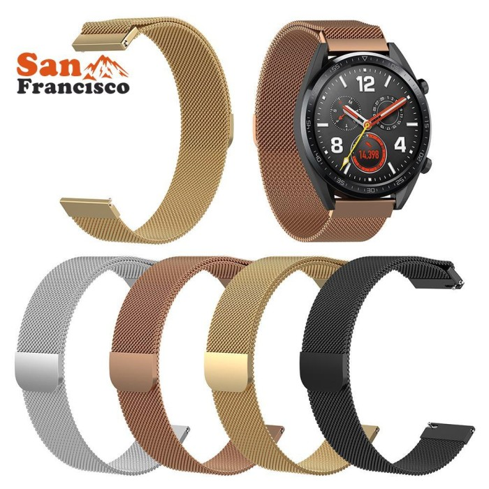 Foto Produk Stainless Steel Watch Strap for Huawei Watch GT 2 GT Honor Magic Unive dari SpeedyDynastyBagus