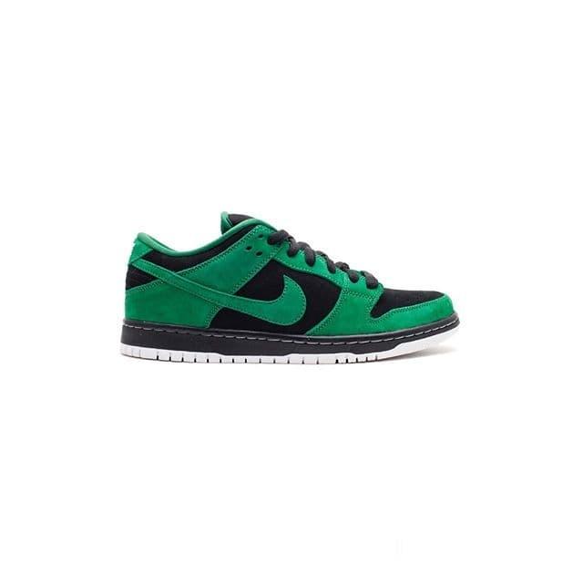 dark green nike dunks