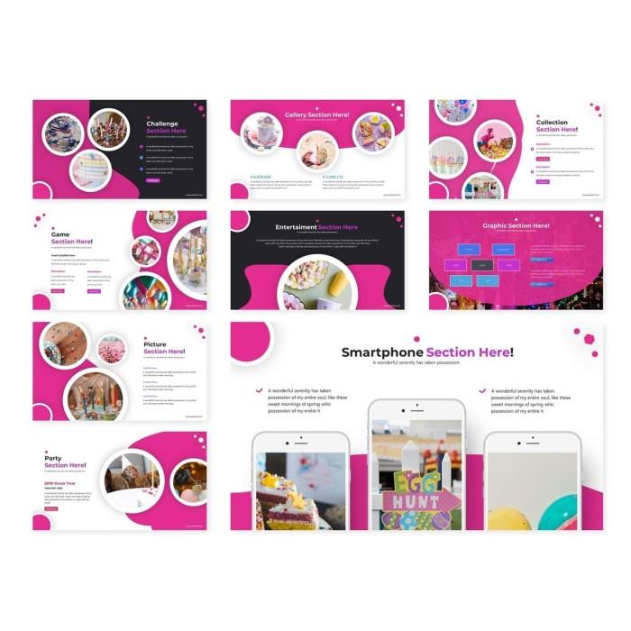Jual Download Template Powerpoint Bisniss 300 Total Slide Elegan Jakarta Pusat Agen Produk Digital Tokopedia