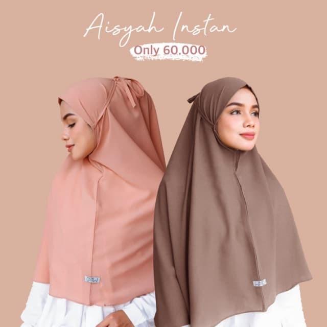 Jual Hijab Instan Bergo Aisyah Wmd Jilbab Instan Jakarta Selatan Wizdanstore Tokopedia
