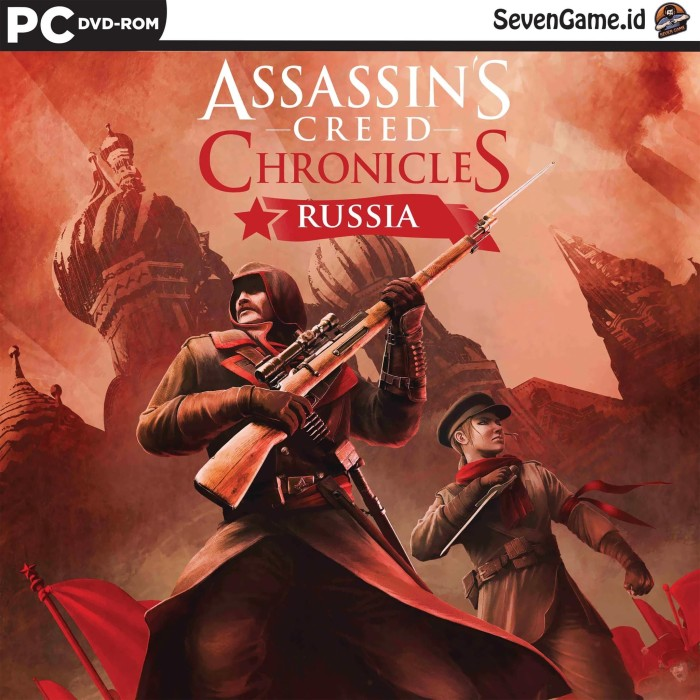 Jual Assassins Creed Chronicles Russia Game Pc Dvd Windows
