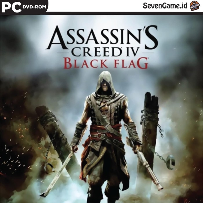 Jual Assassins Creed Iv 4 Black Flag Full Dlc Game Pc Dvd