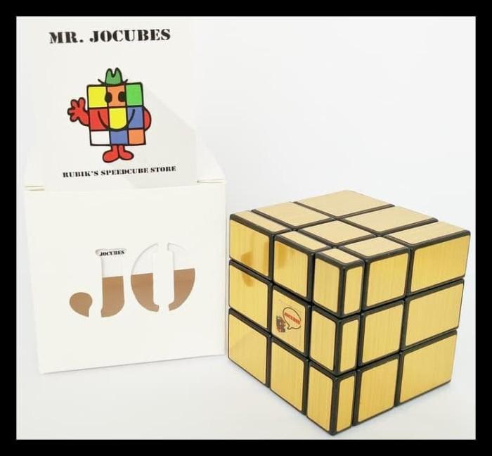 Jual Terpercaya Rubik 3x3 Jocubes Mirror Cube Gold Produk Terbatas Jakarta Barat Aaron Berkah1 Tokopedia