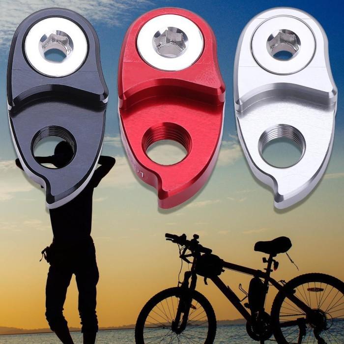 2Pcs Road Bike Frame Tail Hook Rear Derailleur Adapter Cycling Bike Parts
