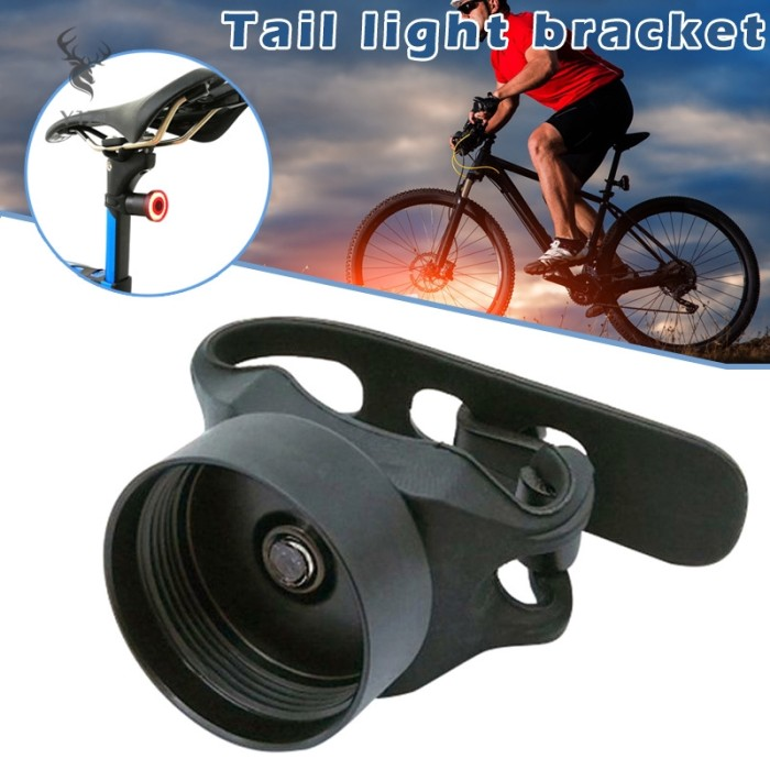 Rear Bicycle Taillight Seat Rod Mounting Holder Stand for Xlite100 Mountain Bike