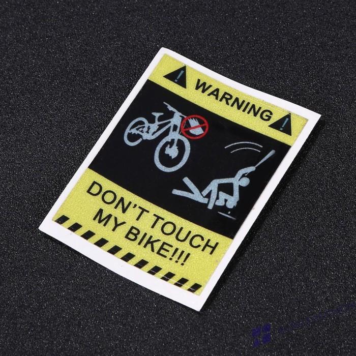 Jual Stiker Reflektif Tulisan Don T Touch My Bike Jakarta Pusat