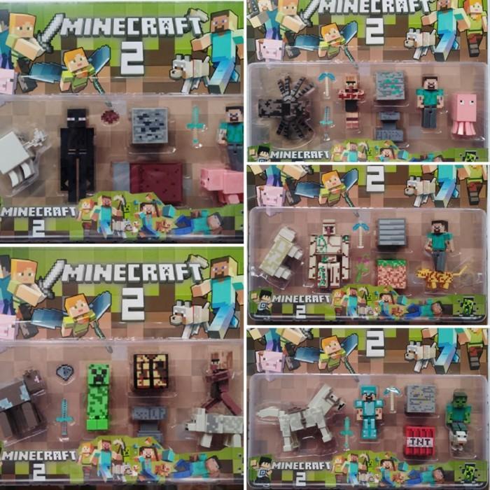 Foto Produk Special Edition - Figure Minecraft Series 2 / Figure Set Minecraft dari OyaOna Shop