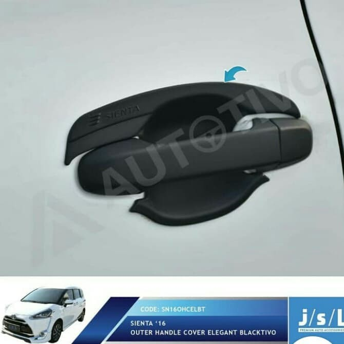 Foto Produk OUTER COVER TOYOTA SIENTA dari Diamond Car Assesories