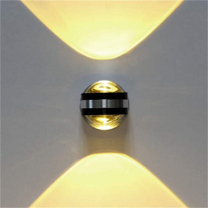 Jual Sale 2w High Power Day White Up Down Wall Lamp Spot Light Round Jakarta Barat Case Import Luar Tokopedia