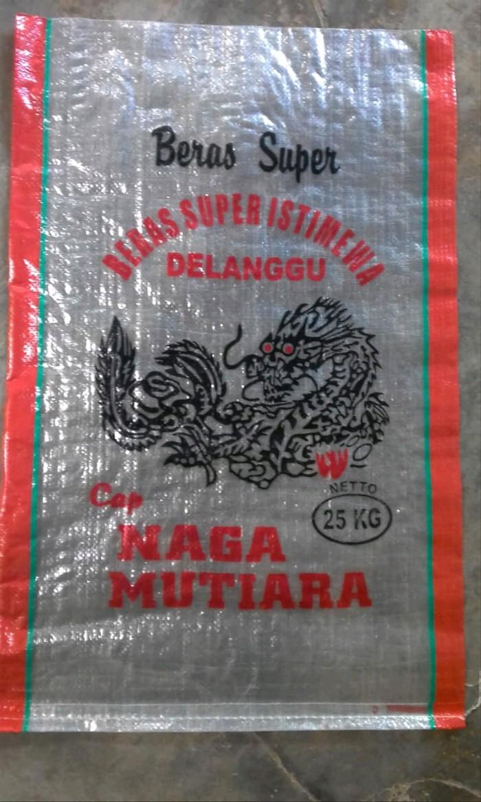 Jual Karung Beras Transparan 25 Kg Cap Naga Mutiara Kota Yogyakarta Tiara El075