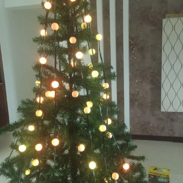 Jual Limited 48led Christmas Tree Light Tree Dazzler Waterproof Home Jakarta Barat Case Import Luar Tokopedia