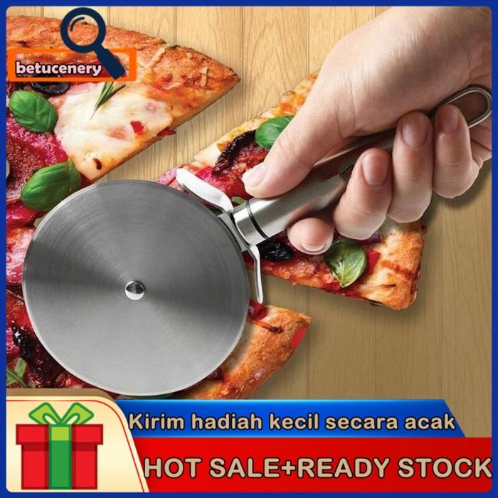 Jual Alat Pemotong Pizza Bahan Stainless Steel Jakarta Selatan Cahyanti01 Tokopedia