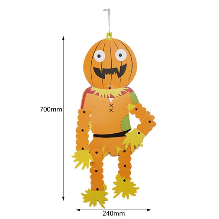 Jual Promo Diy Cute Happy Halloween Paper Lantern Ghost Hanging Props Jakarta Barat Case Import Luar Tokopedia