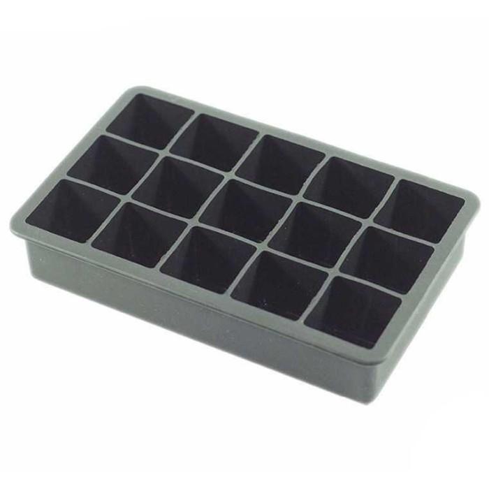 Foto Produk Murah - SSGP Cetakan Es Batu Model Cube 15 Hole [Hitam] - Lapakstore dari Lapakstore[dot]net