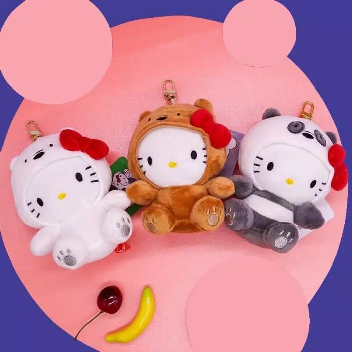 Foto Produk Boneka we bare bears hello kitty original sanrio gantungan kunci - Putih dari cutePeppa