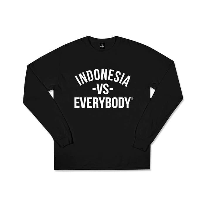 Jual Kaos Indonesia Vs Everybody Lengan Panjang Kota Bekasi Cipinangjersey Tokopedia