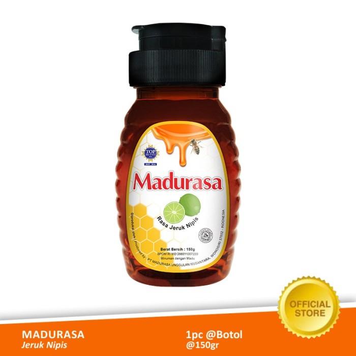 Foto Produk Madurasa Jeruk Nipis Botol 150 gr Pet dari Air Mancur Official Shop