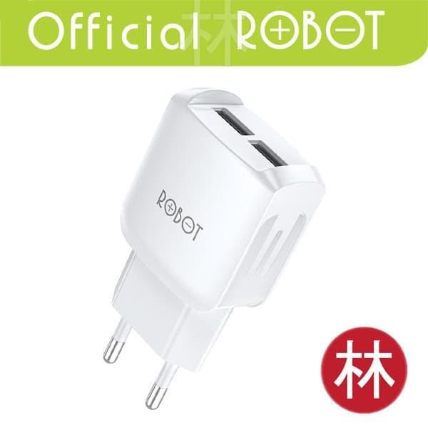 Foto Produk Robot RT-K6 2.4A Dual Output Charger Fast Charging dari Liem