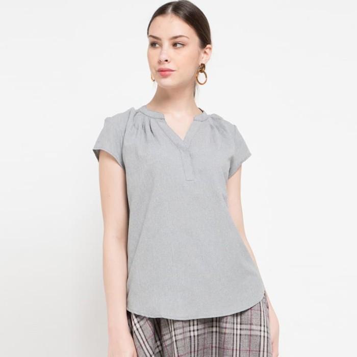 Foto Produk Orli Blouse In Grey - L dari Sophistix Official Store