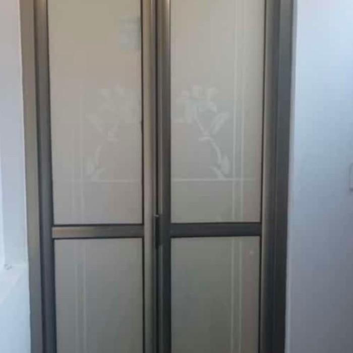 Jual Pintu Kamar Mandi Model Lipat Kab Tangerang Purnama Jaya Aluminium Tokopedia