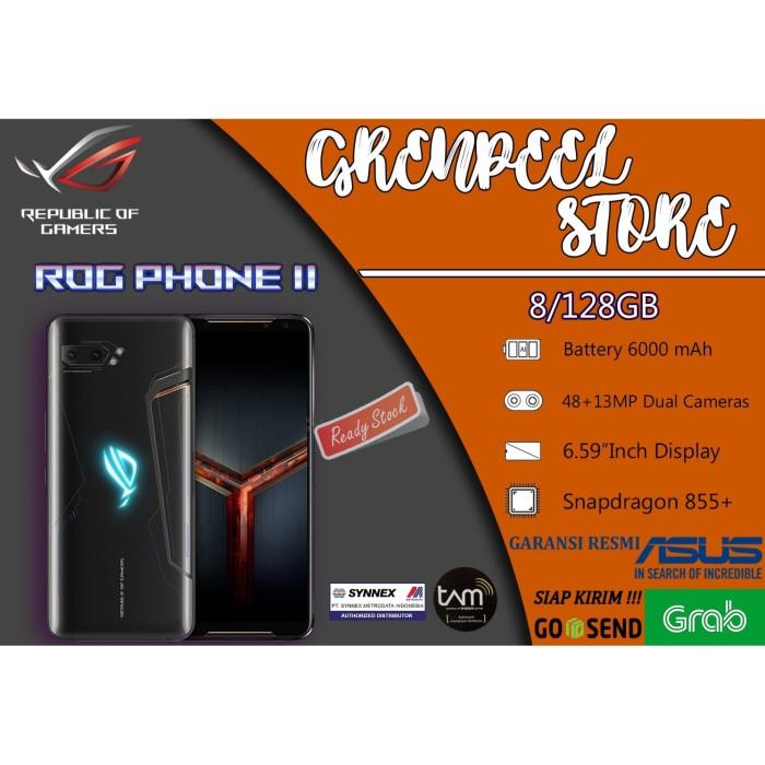 Foto Produk ASUS ROG PHONE 2 II RAM 8GB ROM 128GB Garansi Resmi Asus Indonesia - 8GB RAM, RESMI TAM dari GRENPEEL STORE