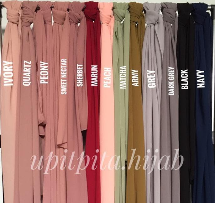 Jual Pashmina Zara Polos By Upitpita Kota Tangerang Selatan Sasmadi Topedstore Tokopedia